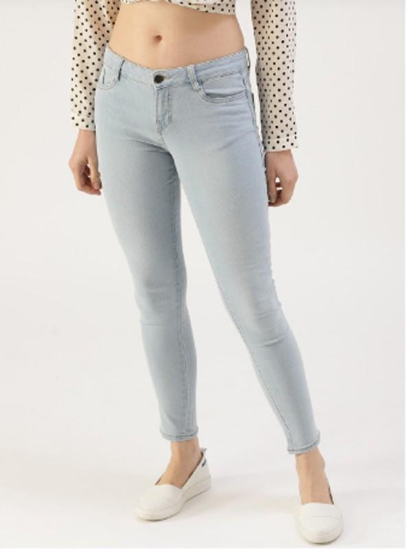 louis india Skinny Women Light Blue Jeans
