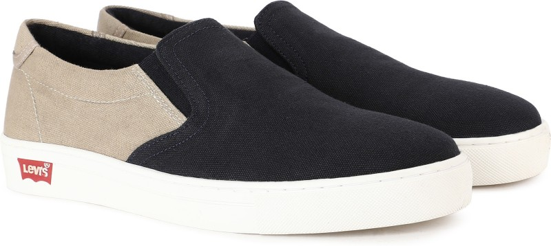 Levi's ATHENS Canvas Shoes For Men(Navy)