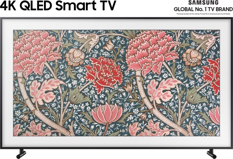 Samsung The Frame 138cm (55 inch) Ultra HD (4K) QLED Smart TV(QA55LS03RAKXXL)