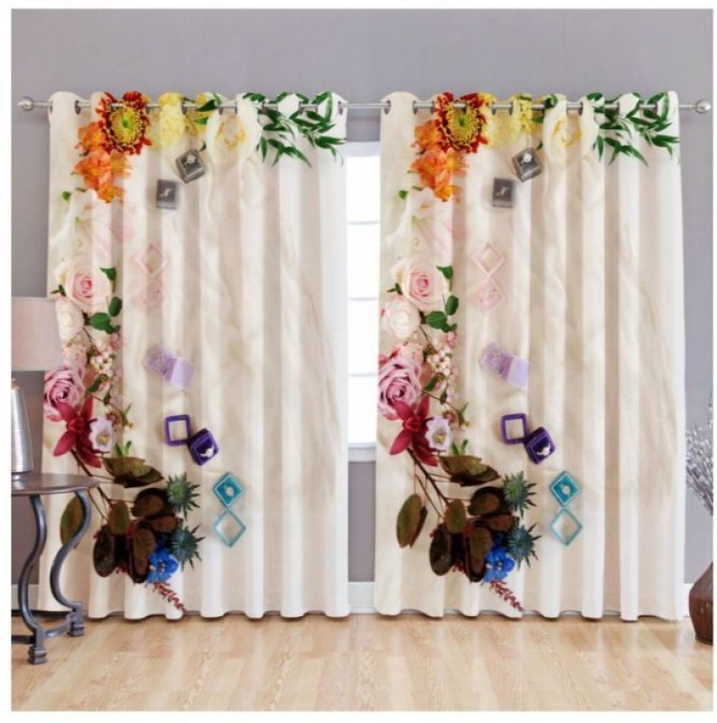 check MRP of door curtains for living room Indiancraft