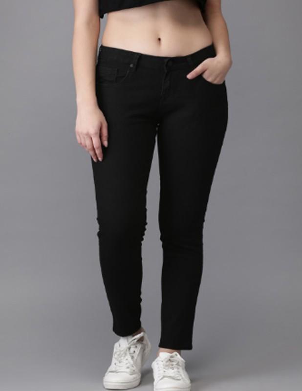 louis india Skinny Women Black Jeans