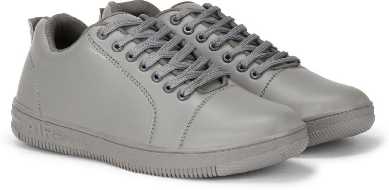 Kraasa Casuals, Canvas, Partywear Sneakers For Men(Grey)