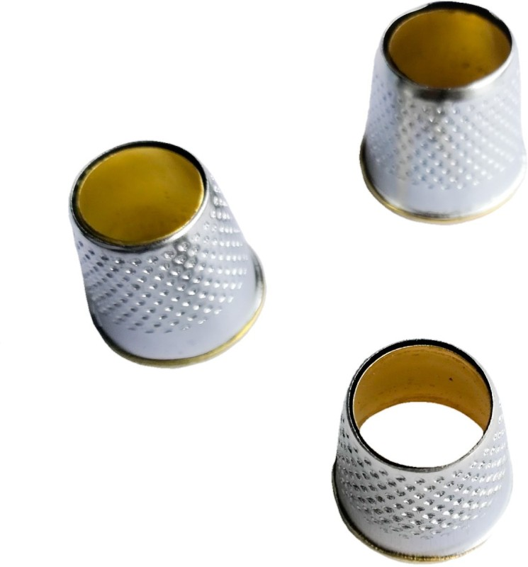 TLO Open Top Tailor's Thimble set of 3 Open Top Thimble(10 mm Pack of3)