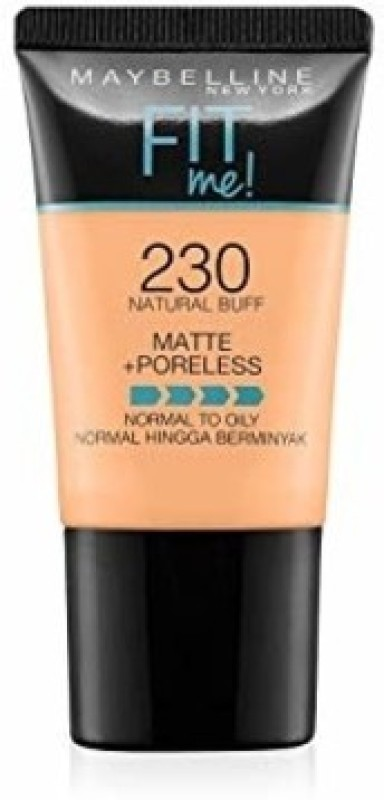 Maybelline Fit Me Matte+Poreless Normal To Oily Foundation(230 Natural Buff, 18 ml)