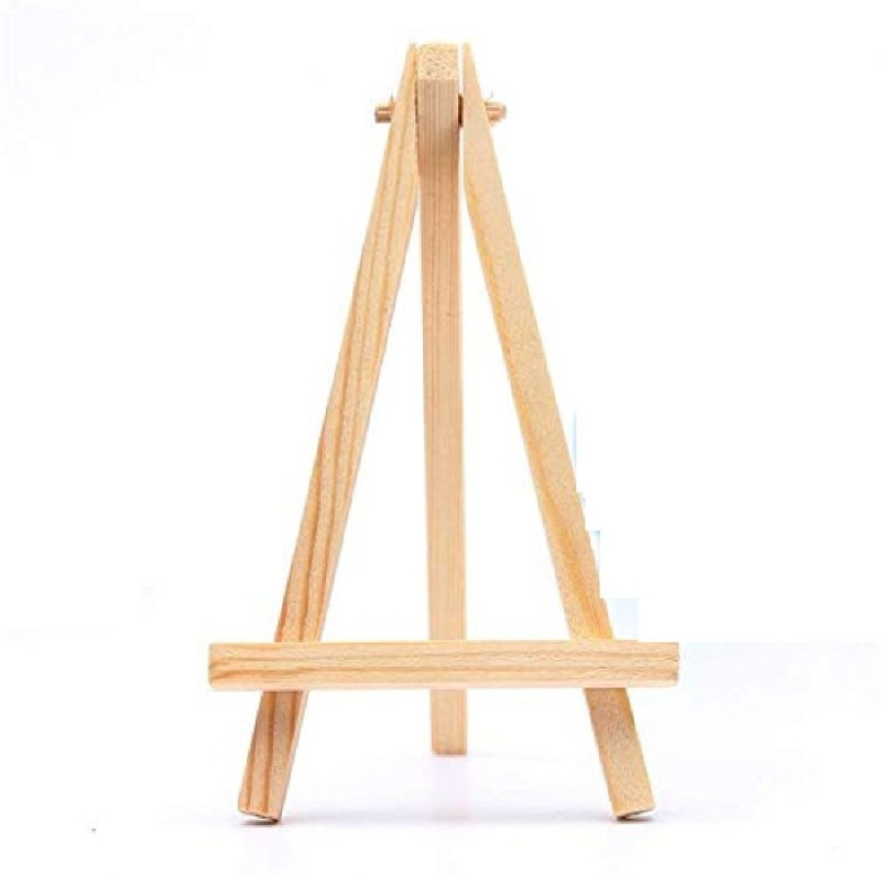 DEZIINE Wood Artist Easel Wedding Table Number Place Name Card Photos Stand Card Display Stand(10 cm Wide)