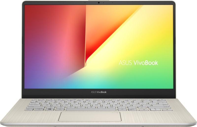 Asus VivoBook S Series Core i5 8th Gen - (8 GB/1 TB HDD/256 GB SSD/Windows 10 Home) S430FA-EB039T Thin and Light Laptop(14 inch, Icicle Gold, 1.40 kg)
