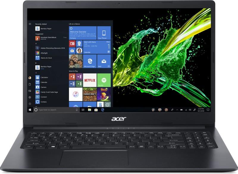 Acer Aspire 3 Pentium Quad Core - (4 GB/500 GB HDD/Windows 10 Home) A315-34-P7EG Laptop(15.6 inch, Charcoal Black, 1.9 kg)