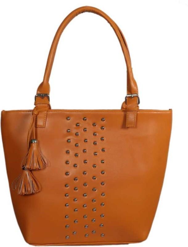 HZB Collection Women Tan Hand-held Bag