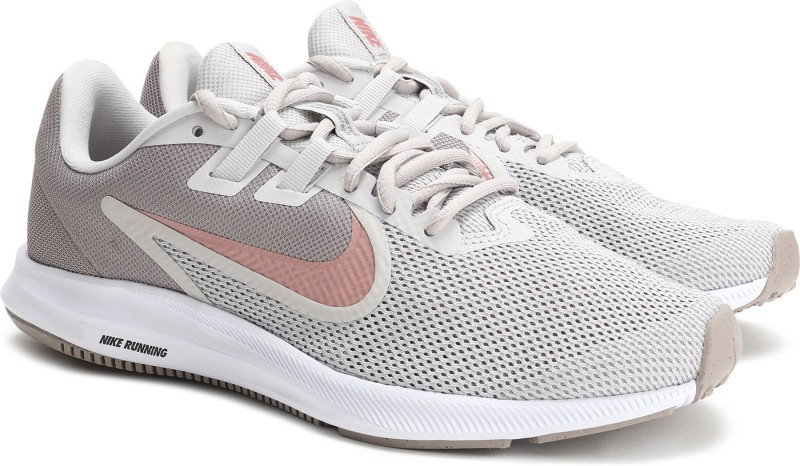 Nike Wmns Downshifter 9 Running Shoes For Women(Grey)