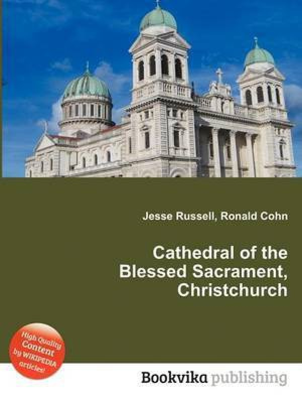 Cathedral of the Blessed Sacrament, Christchurch(English, Paperback, Russell Jesse)