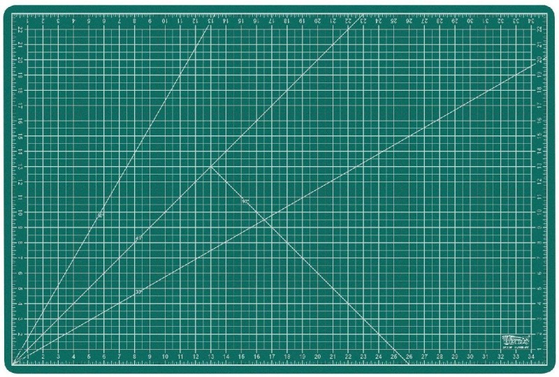 DEZIINE 2K-WRQZ-DAFC Cutting Mat(11 cm x 17 cm)