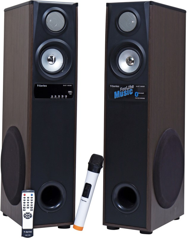 T-Series Blast 10800X Multimedia Tower Speakers System (Black) 70 W Bluetooth Tower Speaker(Black, 2.0 Channel)