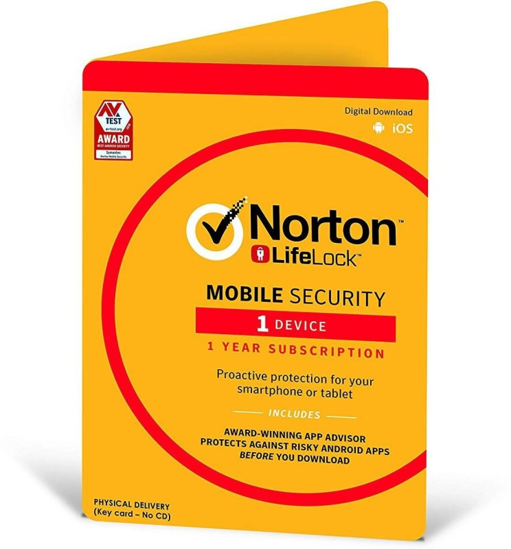 Norton Mobile Security 1 User 1 Year(Voucher)