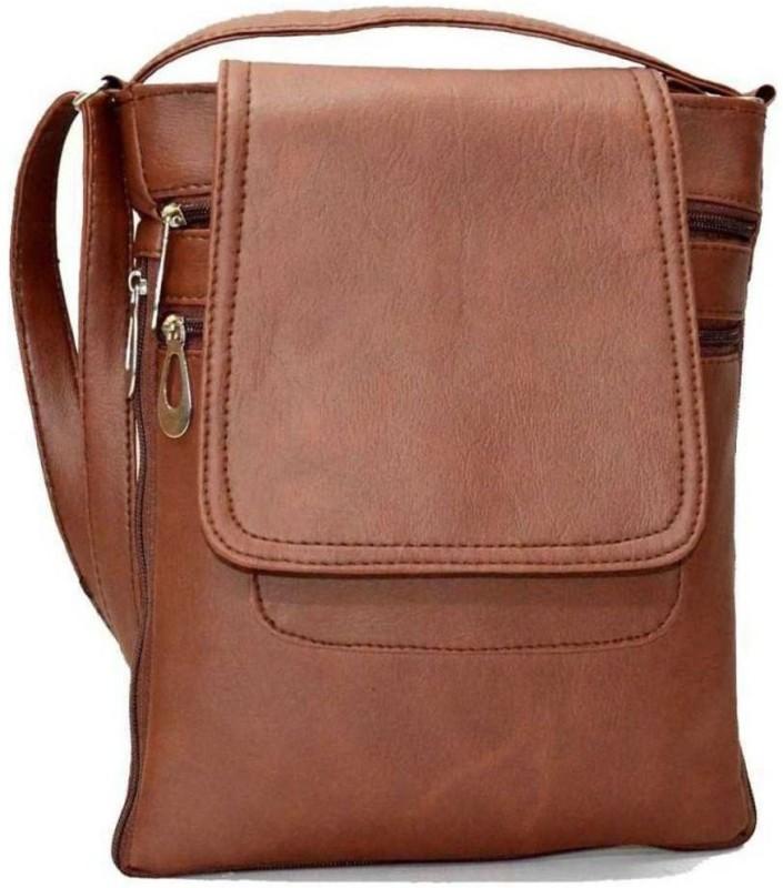 MISSnMRS Brown Sling Bag