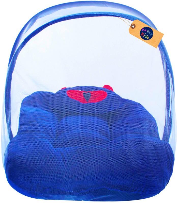 Aayat Kids Velvet Bedding Set(Dark Blue)