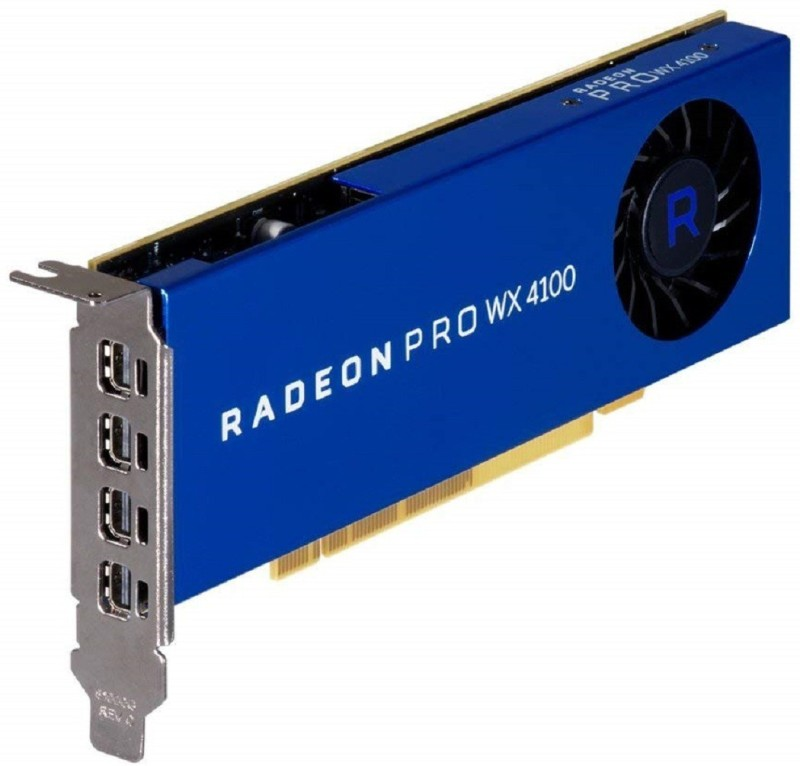 AMD AMD/ATI Sapphire Radeon Pro WX 4100 Workstation Professional 4 GB GDDR5 Graphics Card
