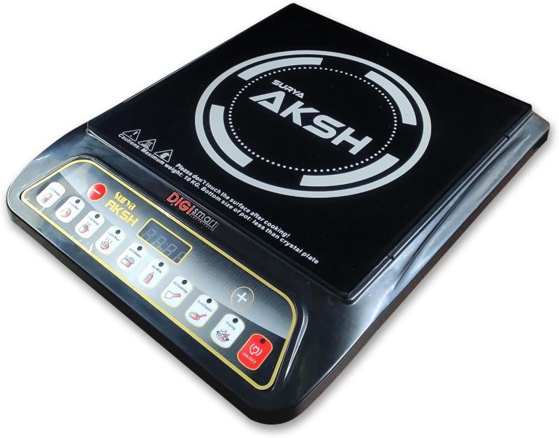 DIGISMART SURYA AKSH Induction Cooktop(Black, Push Button)