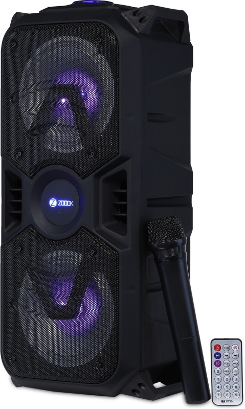 Zoook Rocker Thunder Plus 40 W Bluetooth Party Speaker(Black, Stereo Channel)