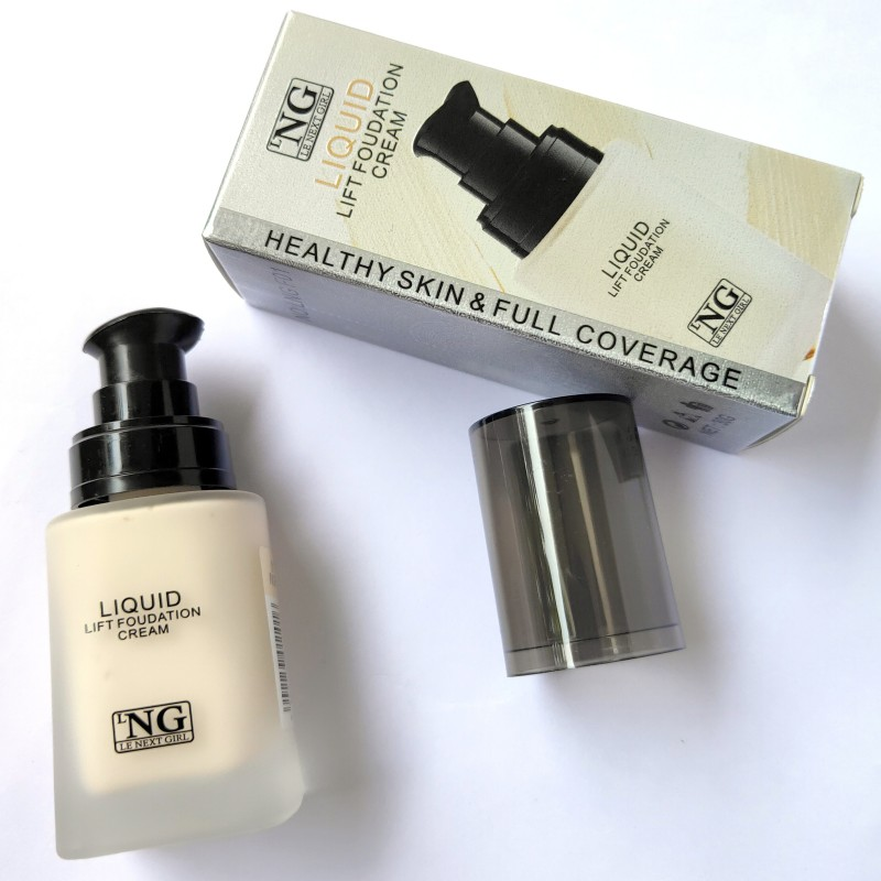 LNG Liquid Lift Makeup Foundation For Healthy Skin And Full Coverage Foundation(Ivory, 30 g)