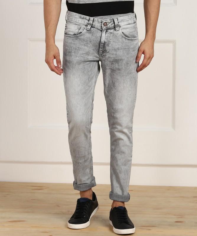 Spykar Skinny Men's Grey Jeans