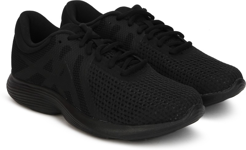 Nike Revolution 4 Running Shoes For Women(Black)