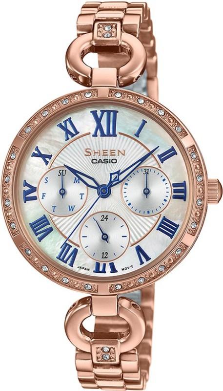 Casio SX265 Sheen Analog Watch - For Women