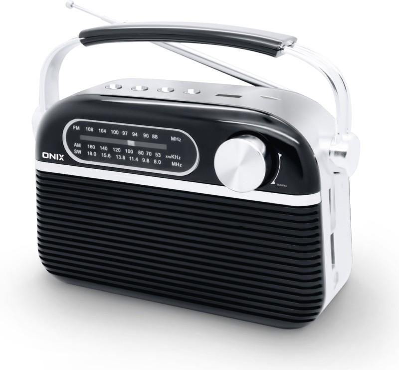 Onix MELODY DELUXE FM Radio(Black)