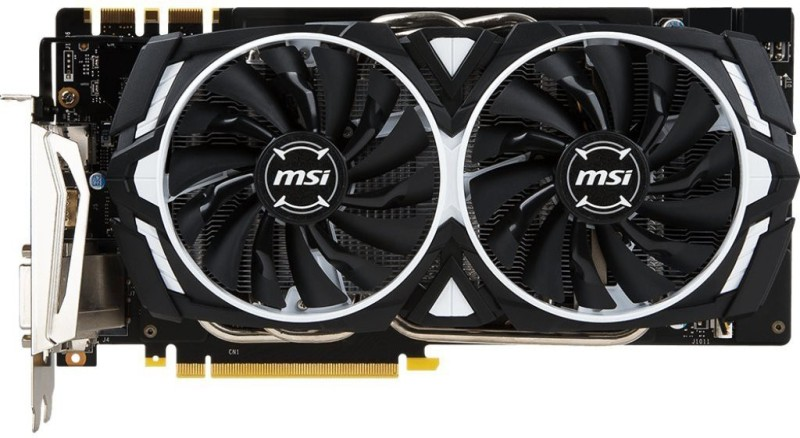 MSI AMD/ATI GTX 1070 Ti 256-Bit 8GB GDDR5 8 GB GDDR5 Graphics Card(Black)