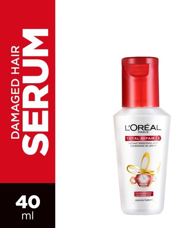 L'Oreal Paris Total Repair 5 Smoothening And Repairing Serum(40 ml)