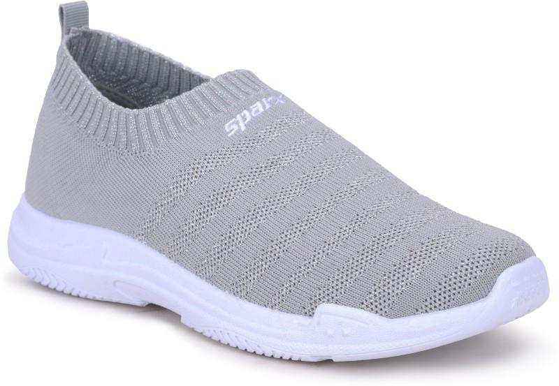 Sparx Women SL-139 Grey White Slip On