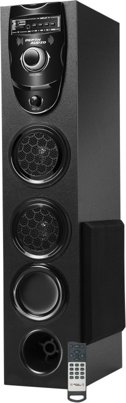 Depth Audio Smash V-1 200 W Bluetooth Tower Speaker(Black Speaker Tower Speaker, 4.1 Channel)