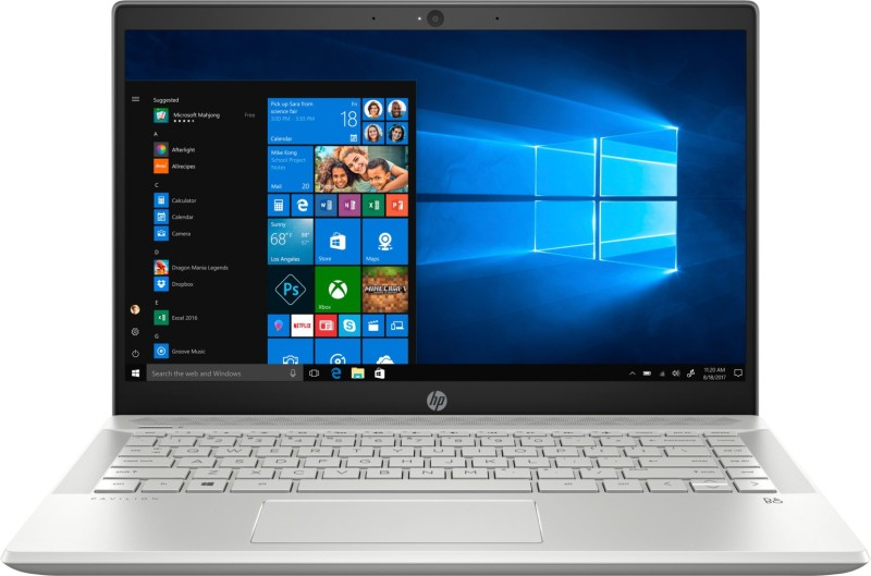 HP Pavilion Core i7 8th Gen - (8 GB/512 GB SSD/Windows 10 Home/2 GB Graphics) 14-ce2065TX Laptop(14 inch, Mineral Silver, 1.59 kg, With MS Office)