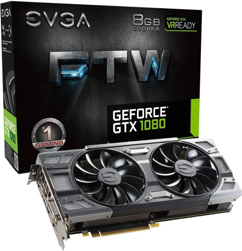 EVGA NVIDIA GeForce GTX 1080 8 GB GDDR5X Graphics Card