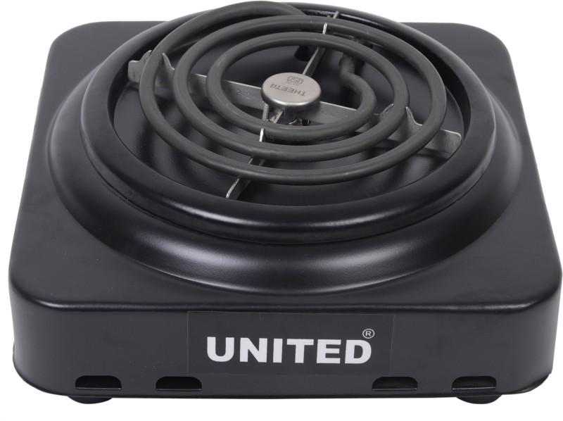 United induc 1000 Radiant Cooktop(Black, Jog Dial)