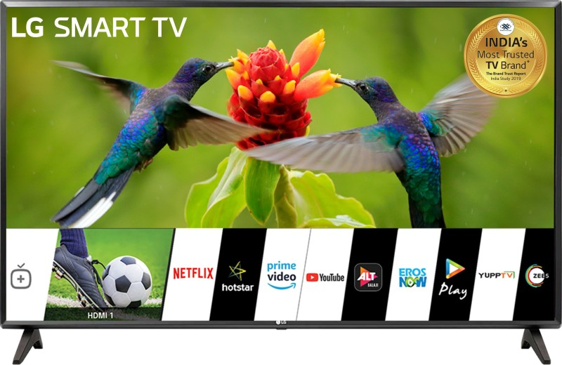 LG All-in-One 80cm (32 inch) HD Ready LED Smart TV 2019 Edition(32LM560BPTC)
