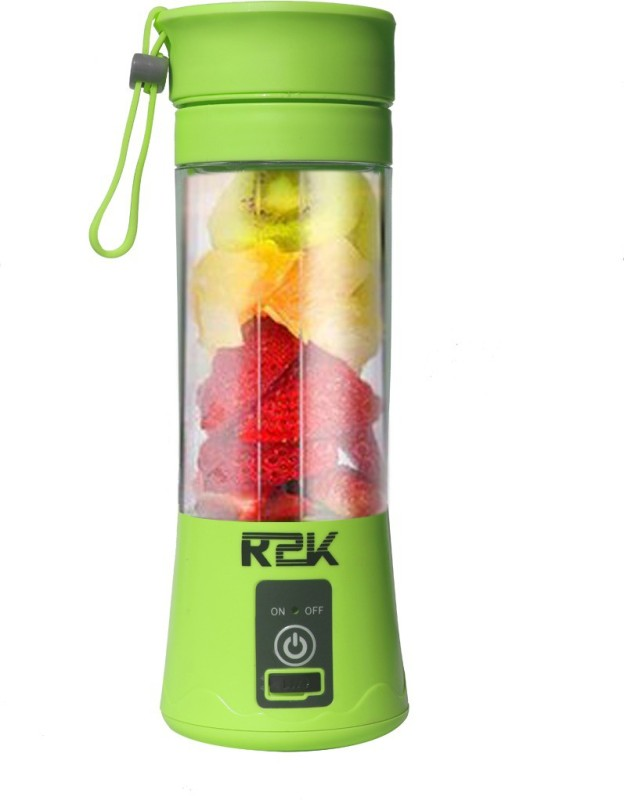 R2K GREEN-2099 Portable Electric Juicer Bottle Blender- Green 36 Juicer(Green, 1 Jar)
