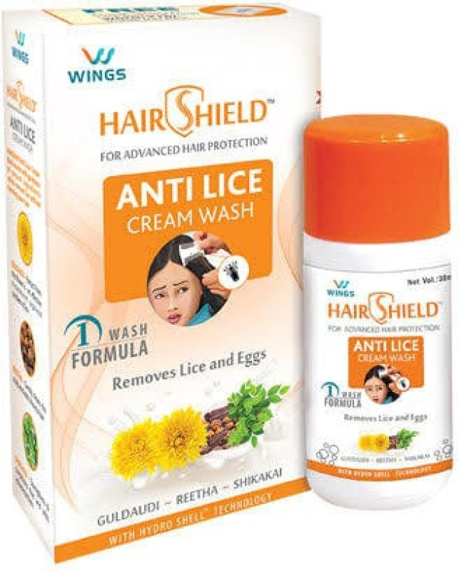 HAIR SHIELD Anti-Lice Shampoo (Pack of 4)(120 ml)