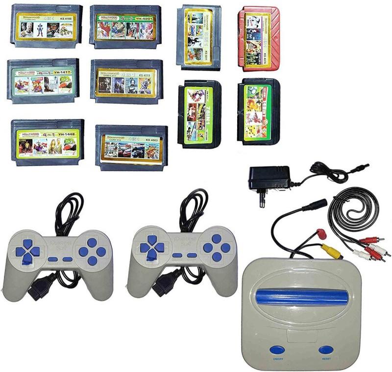 VK MART Tiger 8 Bit Tv Video Game Set For kids NA GB with Mix Games(Multicolor)