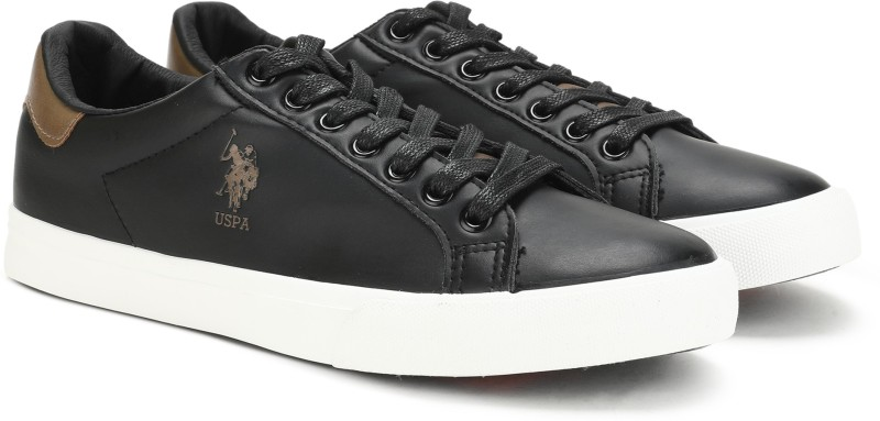 U.S. Polo Assn. MADRYN Sneakers For Men(Black)