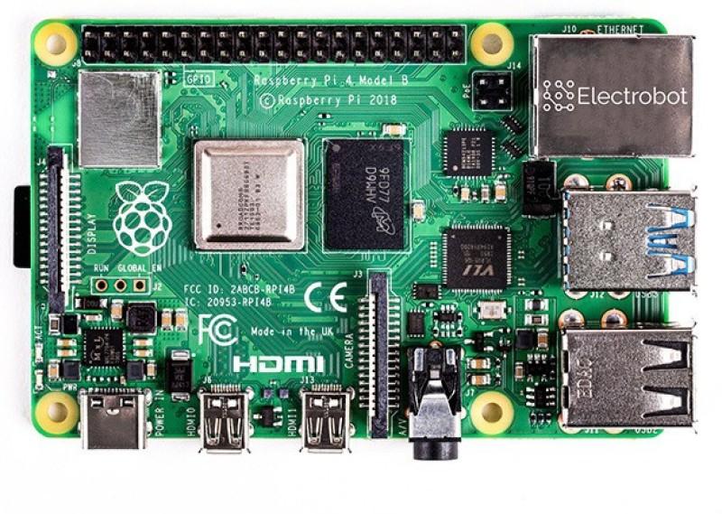 Electrobot Raspberry Pi 4 Model B (2GB) Motherboard