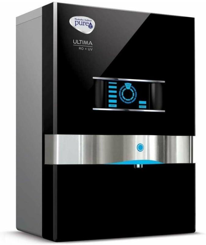 Pureit Ultima Minral RO+UV+MF 10 L Mineral RO + UV + MF + MP Water Purifier(Black)