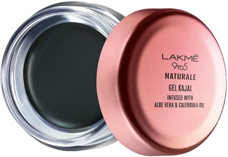 Lakme 9 to 5 Naturale Gel Kajal(Black, 3 g)