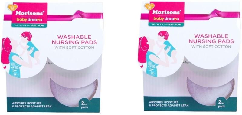 Morisons Nursing pads set of 4 Nursing Breast Pad(Pack of 4)