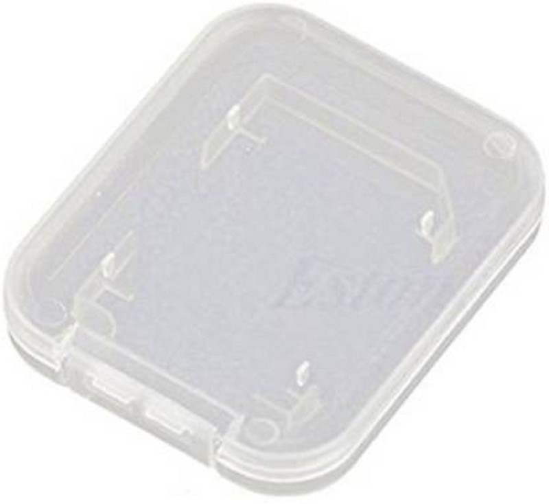 Priyam 20pcs Micro SD Memory Cards case storage holder Storage Box(White)