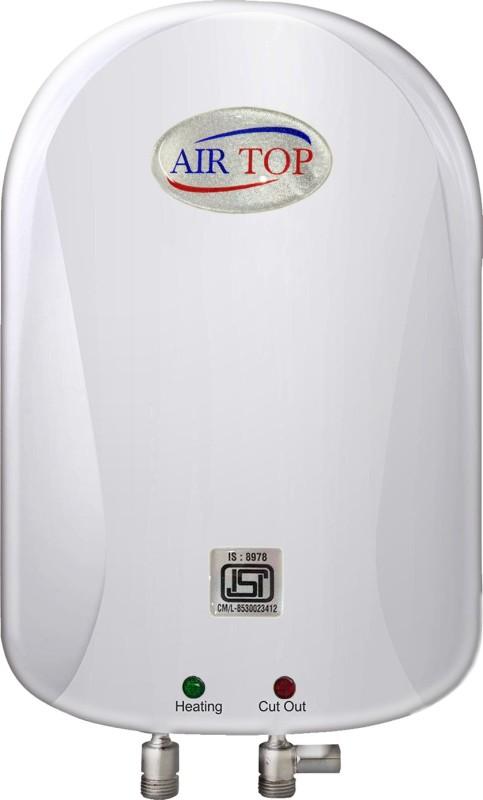 AIR TOP 3 L Storage Water Geyser (NEO Anti-Rust 3 litre Instant Water Heater, White)