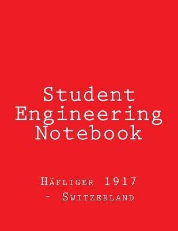 Student Engineering Notebook(English, Paperback, Hafliger 1917 - Switzerland)
