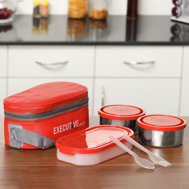 Milton Executive 3 Containers Lunch Box(1010 ml)