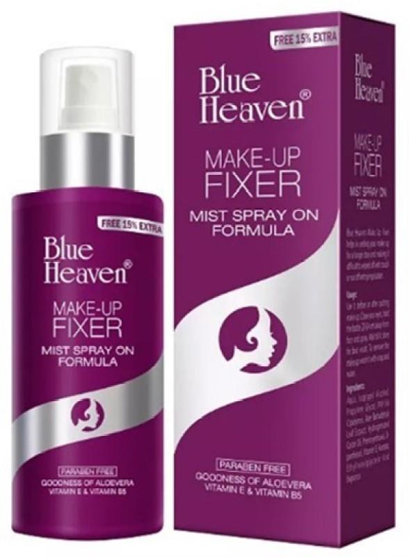 Blue Heaven Makeup-fixer mist spray on formula Primer - 100 ml(naturally)