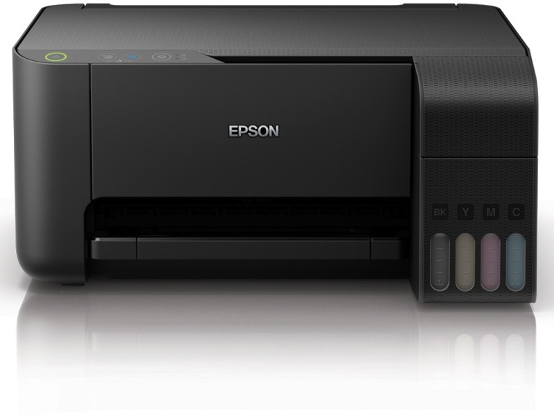Epson L3110 Multi-function Color Printer(Black, Ink Bottle)