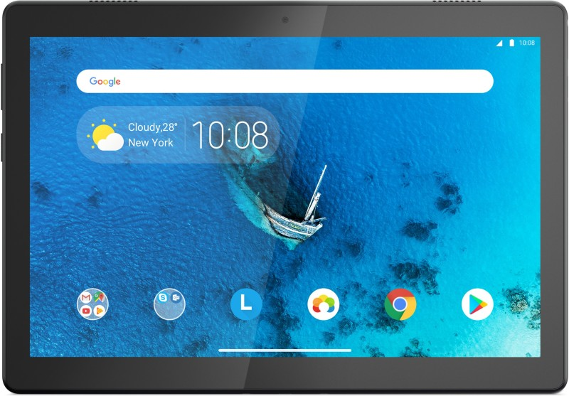 Lenovo Tab M10 (HD) 2 GB RAM 32 GB ROM 10.1 inch with Wi-Fi+4G Tablet (Slate Black)
